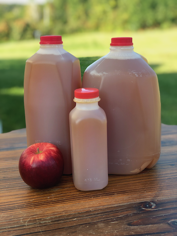 Apple Cider, Fresh-Pressed and Unpasteurized